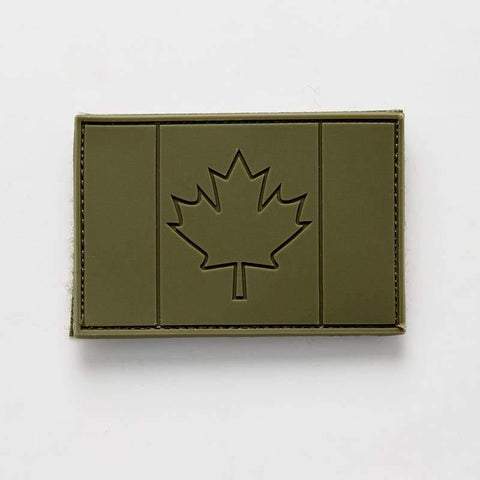 Tactical PVC Canadian Flag Patch