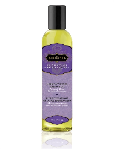 Aromatic Massage Oil - Harmony 8 Fl Oz KS0022