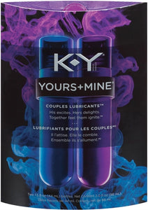 K-Y Yours + Mine Couples Lubricant PM8892