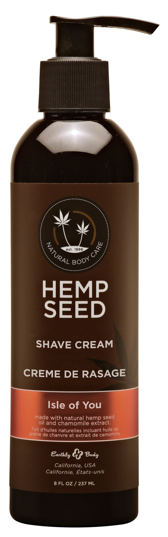 Hemp Seed Shave Cream - Isle of You 8oz EB-HSSK052