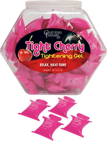 Tight Cherry - Tightening Gel - 72 Piece Fishbowl - 10ml Pillows CF-TIG-10D