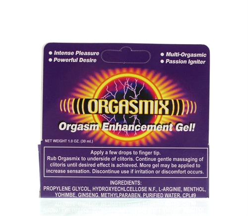 Orgasmix - 1 Oz. Tube - Boxed HTP2197