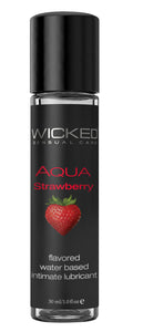 Aqua Strawberry Water-Based Lubricant 1 Oz WS-90411