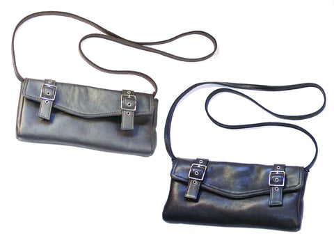 Double Buckle Crossbody Bag