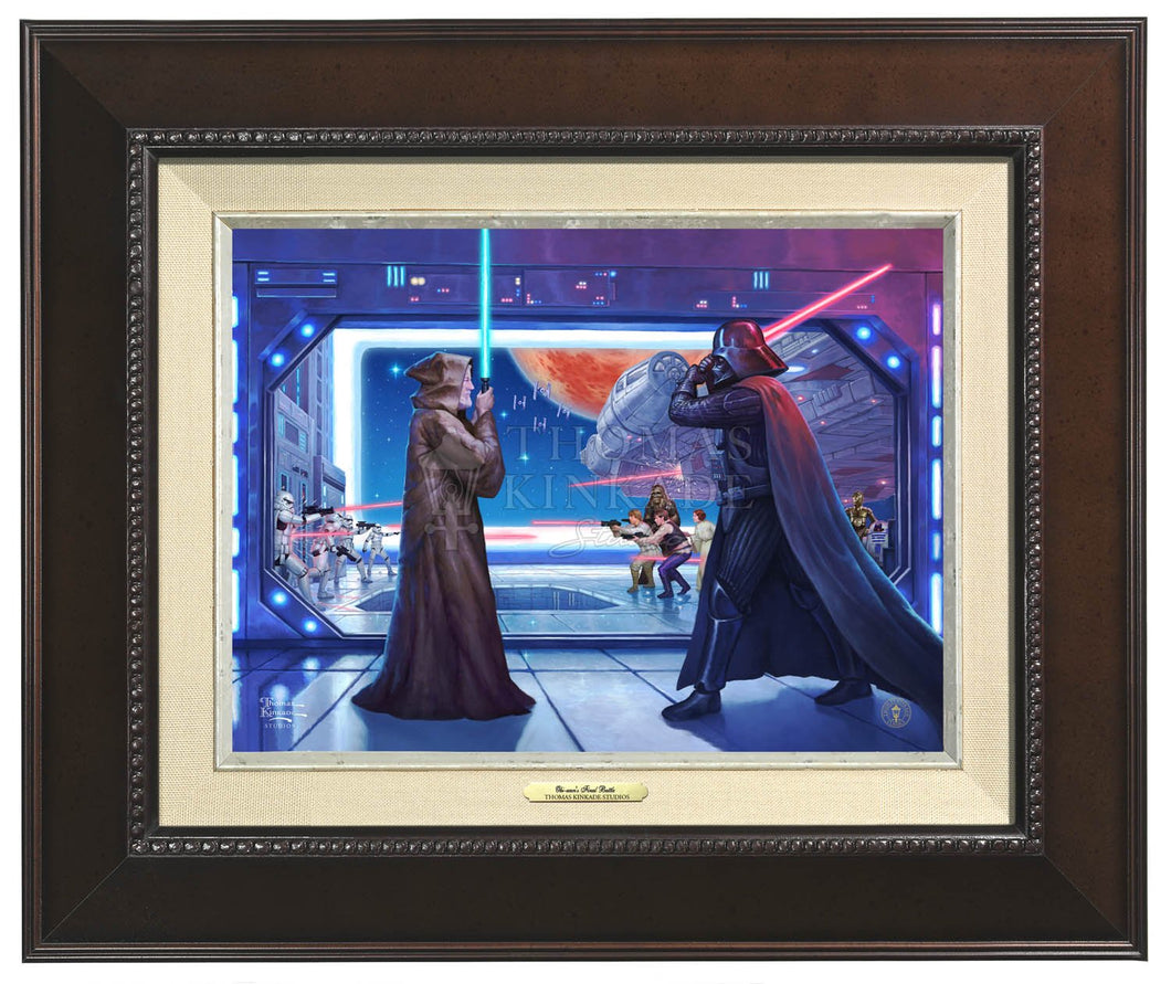 Obi-wan's Final Battle - Canvas Classics