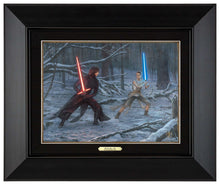 Load image into Gallery viewer, The Duel: Rey vs. Ren - Canvas Classics - ArtOfEntertainment.com