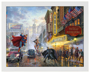 Batman, Superman, Wonder Woman - Standard Art Prints - ArtOfEntertainment.com