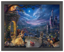 Load image into Gallery viewer, Beauty and the Beast Dancing in the Moonlight - Standard Art Prints - ArtOfEntertainment.com
