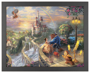 Beauty and the Beast Falling in Love - Standard Art Prints - ArtOfEntertainment.com