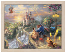 Load image into Gallery viewer, Beauty and the Beast Falling in Love - Standard Art Prints - ArtOfEntertainment.com