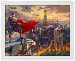 Superman - Protector of Metropolis - Standard Art Prints - ArtOfEntertainment.com