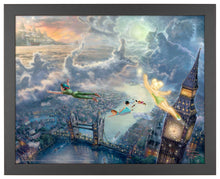 Load image into Gallery viewer, Tinker Bell and Peter Pan Fly to Never Land - Standard Art Prints - ArtOfEntertainment.com