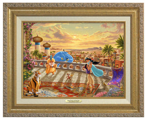 Jasmine Dancing in the Desert Sunset - Canvas Classics - ArtOfEntertainment.com