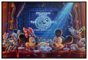 Canvas Wall Murals 90 Years of Mickey
