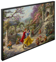 Load image into Gallery viewer, Snow White Dancing in the Sunlight - Canvas Wall Murals - ArtOfEntertainment.com