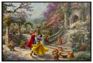 Snow White Dancing in the Sunlight - Canvas Wall Murals - ArtOfEntertainment.com