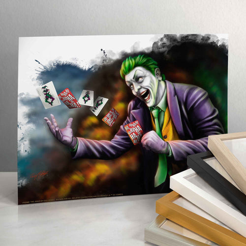 The Joker - Standard Art Prints - ArtOfEntertainment.com
