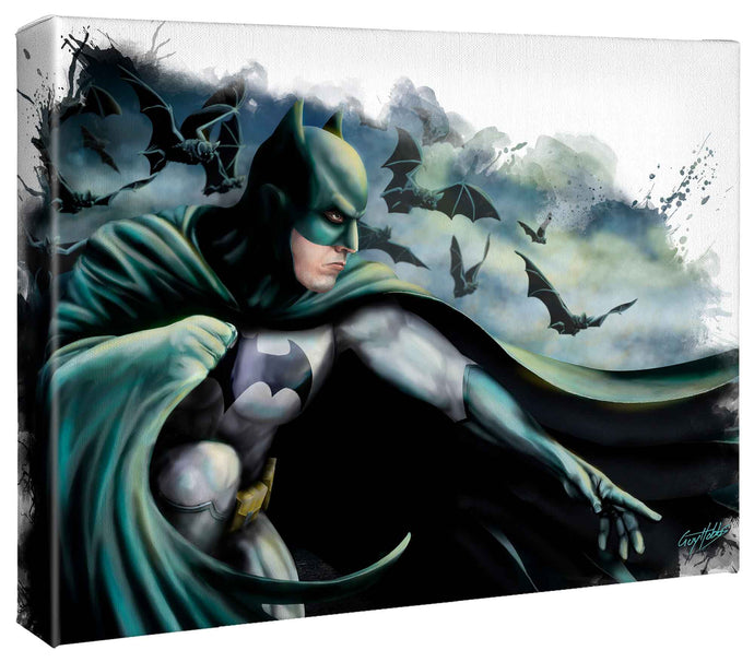 Batman - Gallery Wrapped Canvas - ArtOfEntertainment.com