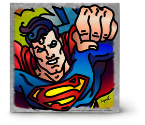 Metal Box Art Superman