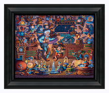 "Load image into Gallery viewer, Pinocchio - 19"" x 22.5"" Framed Canvas Prints 108856"