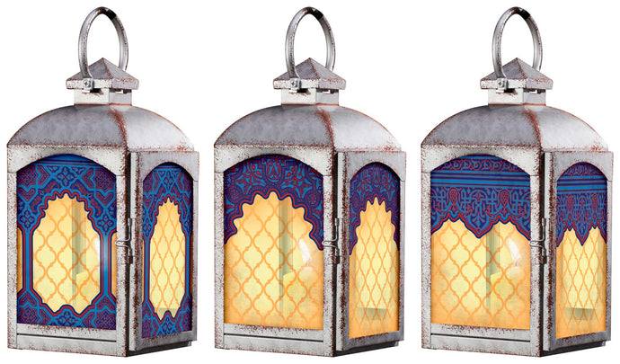 Arabian Lanterns Set of 3 108872