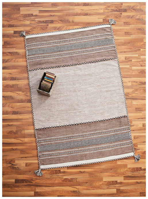 Versa Brown Area Rug - 2' x 3' 109022