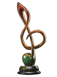 Treble Clef  - Sculpture 109193