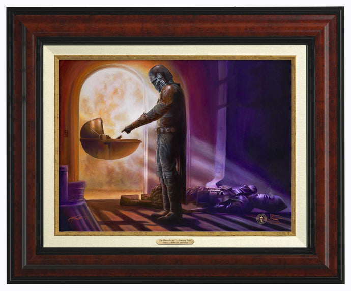 The Mandalorian - Turning Point - Canvas Classics - ArtOfEntertainment.com