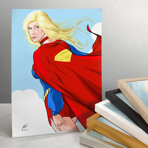 "Supergirl - 11"" x 14"" Art Prints (Unframed) 109288"