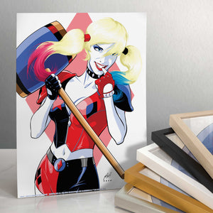 "Harley Quinn - 11"" x 14"" Art Prints (Unframed) 109316"