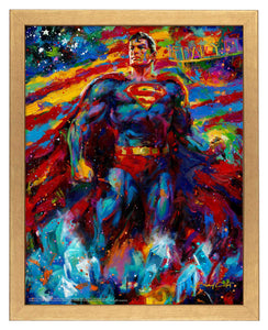 Superman - Last Son of Krypton - Standard Art Prints - ArtOfEntertainment.com