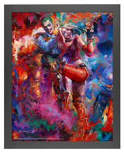 Load image into Gallery viewer, The Joker and Harley Quinn - Standard Art Prints - ArtOfEntertainment.com
