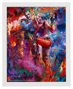 The Joker and Harley Quinn - Standard Art Prints - ArtOfEntertainment.com