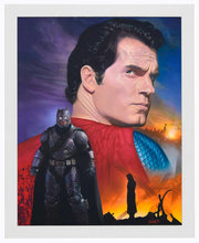 Load image into Gallery viewer, Batman vs. Superman - Do You Bleed - Standard Art Prints