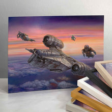 Load image into Gallery viewer, The Mandalorian - The Escort - Standard Art Prints - ArtOfEntertainment.com