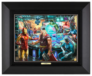 The Avengers - Canvas Classics - ArtOfEntertainment.com