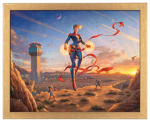 Load image into Gallery viewer, Captain Marvel - Dawn of a New Day - Standard Art Prints - ArtOfEntertainment.com