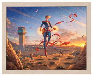 Captain Marvel - Dawn of a New Day - Standard Art Prints - ArtOfEntertainment.com
