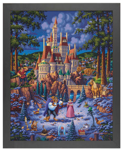 Beauty and the Beast Finding Love - Standard Art Prints