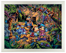 Load image into Gallery viewer, Mickey and Friends Exploring the Jungle - Standard Art Prints