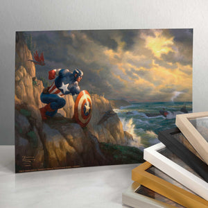 Captain America - Sentinel of Liberty - Standard Art Prints - ArtOfEntertainment.com