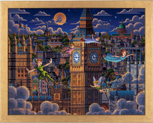 Load image into Gallery viewer, Peter Pan Learning to Fly - Standard Art Prints