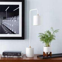 Load image into Gallery viewer, Rey of Light Table Lamp - White