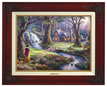 Load image into Gallery viewer, Snow White Discovers the Cottage - Canvas Classics - ArtOfEntertainment.com