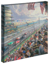 "Load image into Gallery viewer, Indy 500 (Set of 3) - 14 x 14 Gallery Wrapped Canvas - 14"" x 14"" Gallery Wrapped Canvas - ArtOfEntertainment.com"