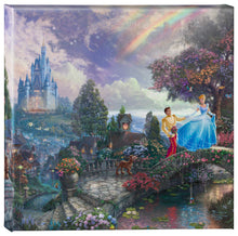 Load image into Gallery viewer, Gallery Wrapped Canvas Cinderella Wishes Upon a Dream