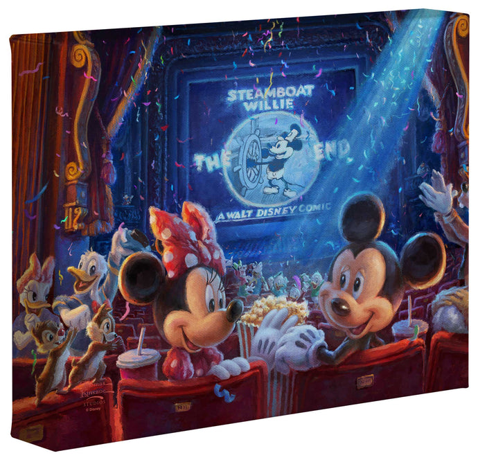 Mickey's 90 Years of Magic - Gallery Wrapped Canvas
