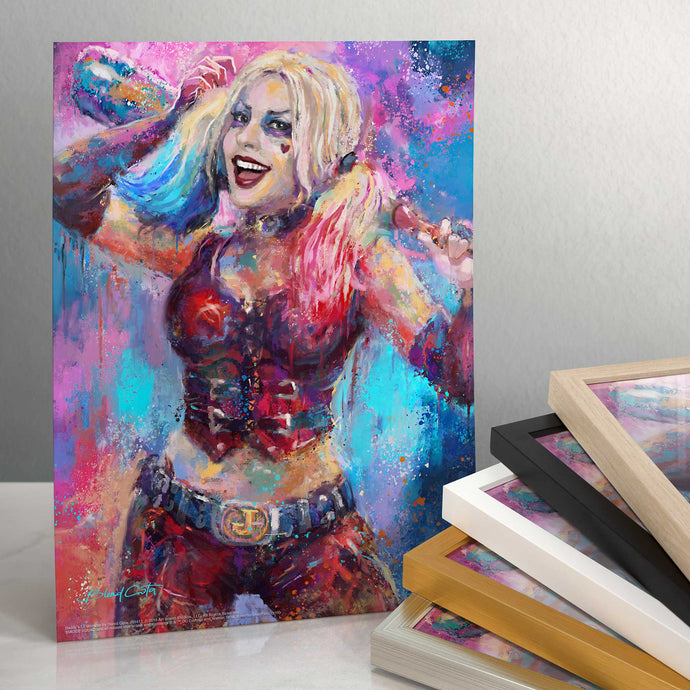 Daddy's Little Monster - Standard Art Prints - ArtOfEntertainment.com