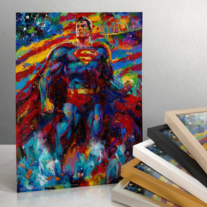 "Superman - Last Son of Krypton - 14"" x 11"" Art Print 91413"