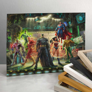 "The Justice League - 11"" x 14"" Art Print 91419"